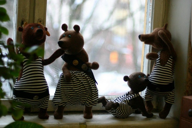 Волшебные войлочные куклы (4)