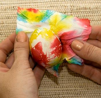 Декоративное окрашивание яиц (5)