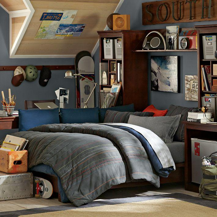 Убранство комнат американских подростков (8)