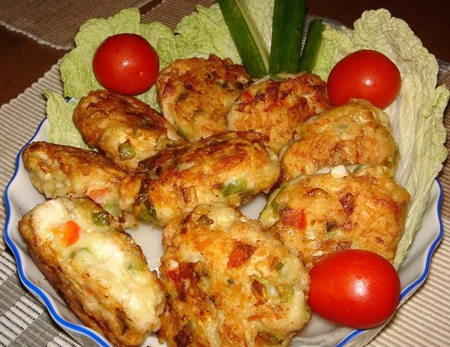 Курино-кабачковые котлетки (1)