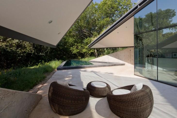 Дом с любовью к природе