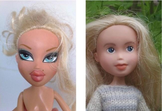 Если смыть макияж с куклы (1)