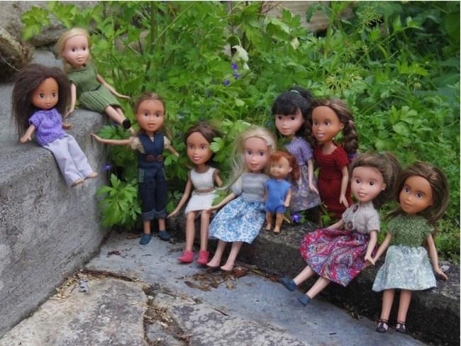 Если смыть макияж с куклы (12)