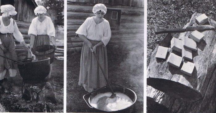 Как в прошлые времена хозяйки стирали белье (5)