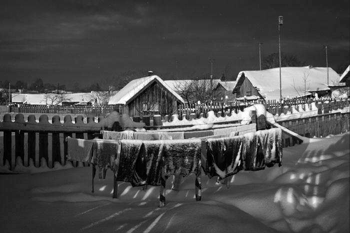 Как в прошлые времена хозяйки стирали белье (9)