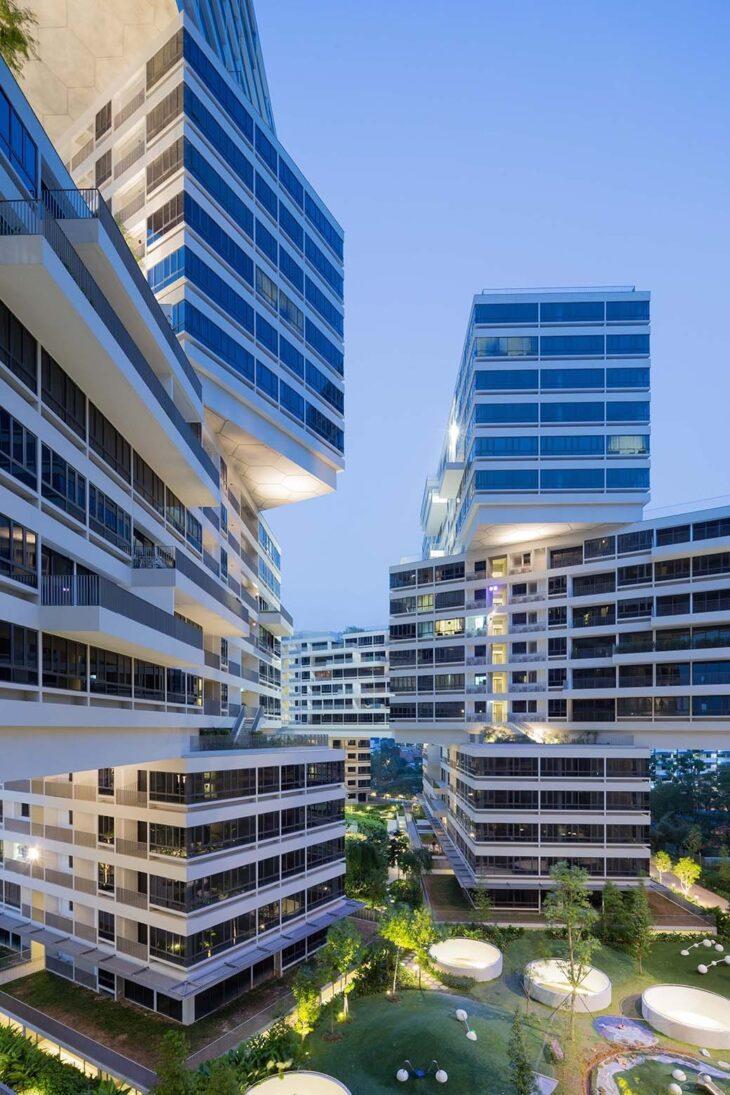 Уникальный жилой комплекс Interlace в Сингапуре